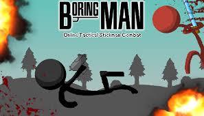 Boring man
